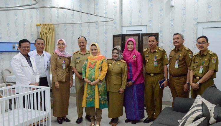 – Kunjungan Kerja Ketua TP PKK ke Ruang PONEK Terstandar Nasional –