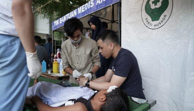 Tim Kesehatan Lingkungan Lakukan Rapid Health Assessment di 14 Titik Pengungsian