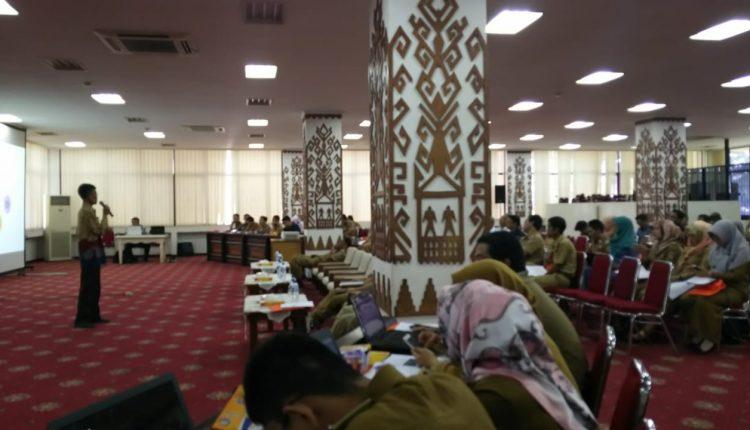 Sosialisasi penggunaan master website Organisasi Perangkat Daerah (OPD) di lingkungan Pemerintah Provinsi Lampung