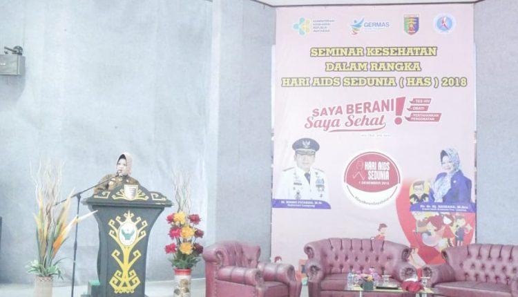 Kepala Dinas Kesehatan Provinsi Lampung  ajak semua pihak lakukan pencegahan dan pengendalian HIV/AIDS