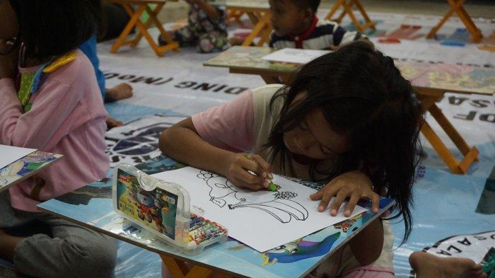 Dinas Kesehatan Provinsi Lampung bantu atasi trauma anak-anak pengungsi