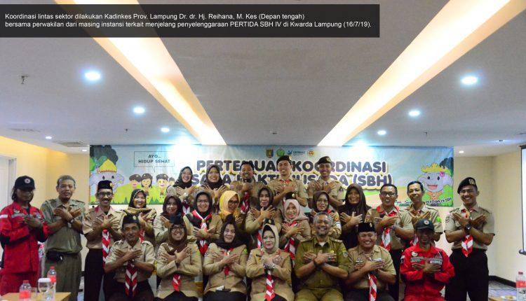 Perkemahan Bakti Daerah Saka Bakti Husada (PERTIDA SBH) Ke – IV Kwarda Lampung Di Gelar Besok