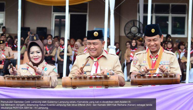 Resmi dibuka, PERTIDA SBH ke – IV Lampung Tahun 2019