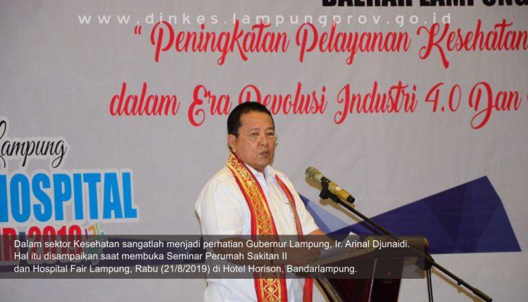 Gubernur Lampung pantau perkembangan Pelayanan Rumah Sakit di Lampung