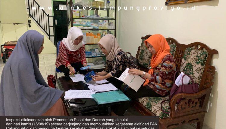Roadshow Inspeksi Penyalur Alat Kesehatan di Lampung dimulai