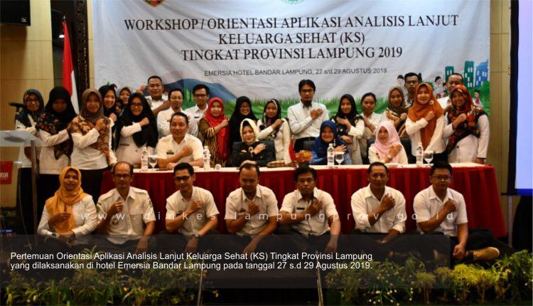 Dinkes Lampung Laksanakan Percepatan Implementasi PIS-PK tingkat Provinsi Lampung