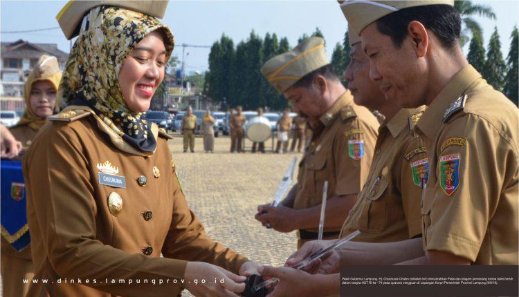 Juara Kebersihan Fasilitas Umum, Dinkes Lampung semakin tingkatkan pelayanan