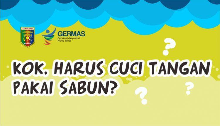 Infografis : Kok Harus Cuci Tangan Pakai Sabun?