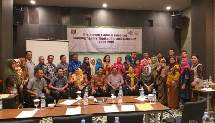8 Aksi Konvergensi Pencegahan Stunting Provinsi Lampung Tahun 2019