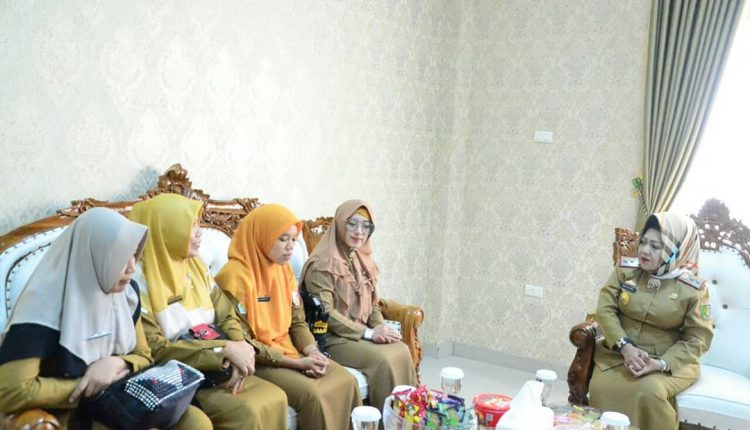 Audiensi Tenaga Kesehatan Teladan Tingkat Provinsi Lampung Tahun 2019