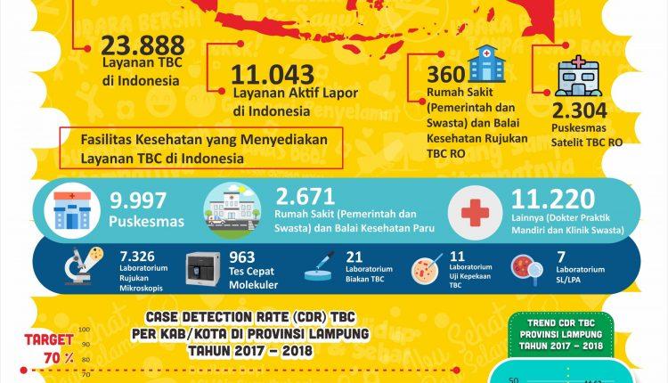 Capaian Penanggulangan TBC di Provinsi Lampung