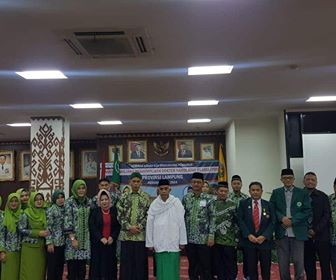 Kadinkes Provinsi Lampung, Ajak Pengurus PW. PDNU Lampung bersinergi mewujudkan Lampung Berjaya