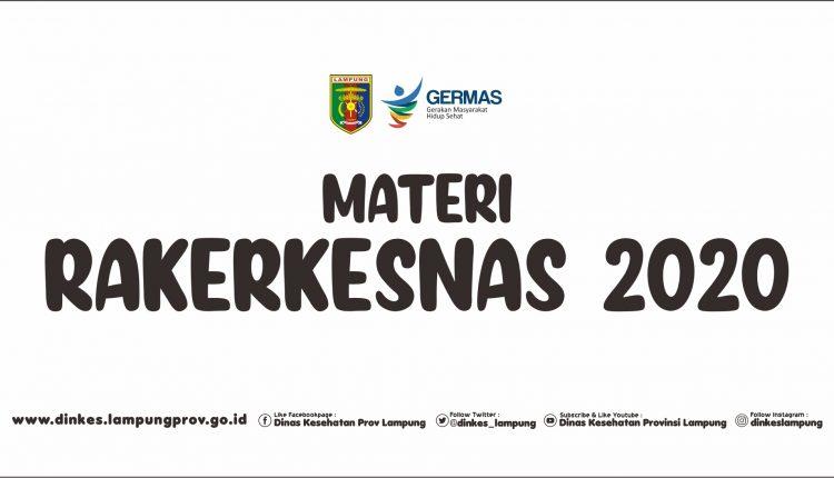 Materi RAKERKESNAS 2020