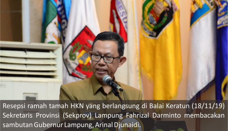 Meriahnya, Acara Puncak Hari Kesehatan Nasional ke – 55 di Provinsi Lampung