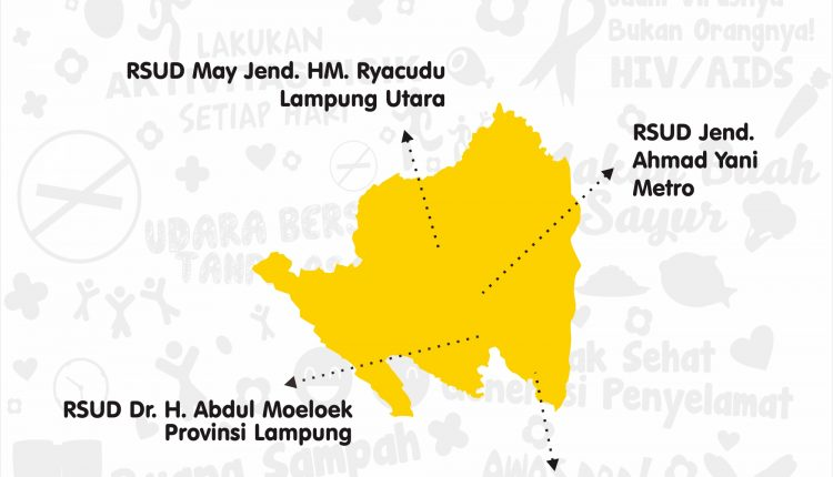 Infografis : 4 Rumah Sakit Rujukan di Provinsi Lampung