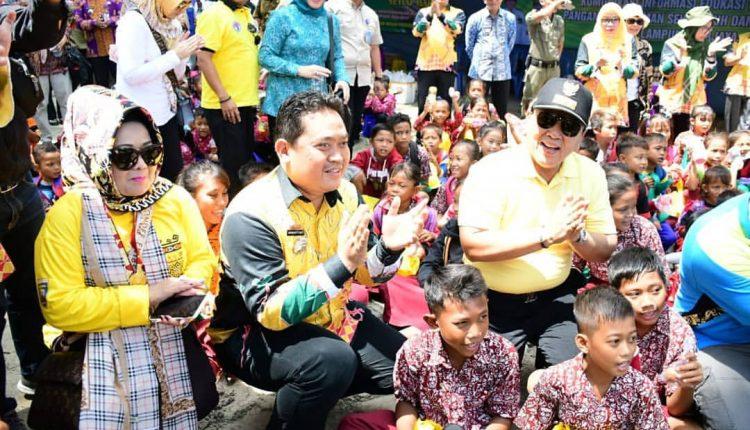 Cek Kesehatan, warnai HUT Lampung ke - 56 di Pulau Pahawang (3)
