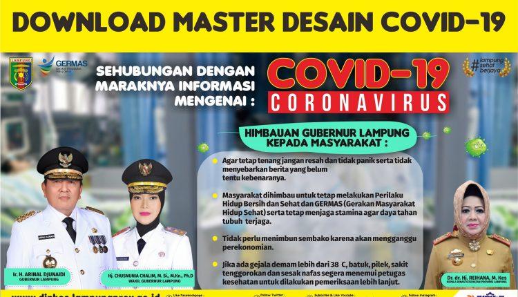 Master Desain COVID-19 SKPD Provinsi Lampung & Kab/Kota