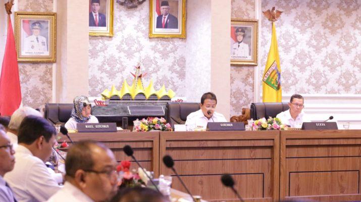 Gubernur Arinal Ajak Bupati/Walikota Berikan Imbauan Bijak Ke Masyarakat Terkait Virus Corona