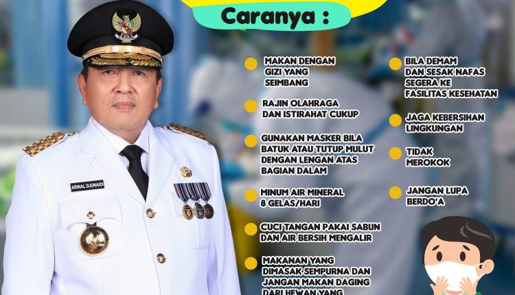 infografis JAGA DIRI DAN KELUARGA DARI COVID19 - DINKESLAMPUNG