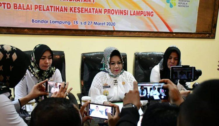 Press Conference Terkait Pasien Positif Covid-19 di Lampung
