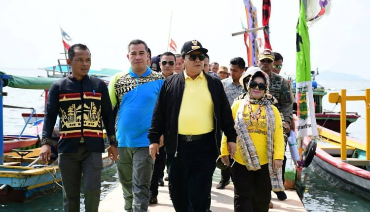 Pulau Pahawang, Jadi Pilihan Gubernur Lampung Bakti Sosial HUT Lampung ke – 56