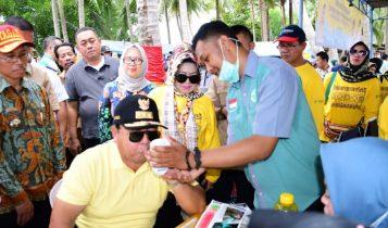 Pulau Pahawang, Jadi Pilihan Gubernur Lampung Bakti Sosial HUT Lampung ke - 56