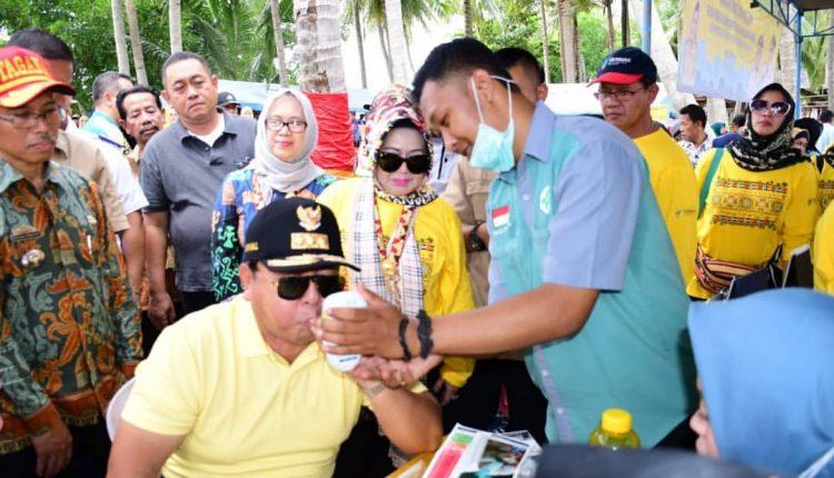 Cek Kesehatan, Warnai HUT Lampung ke – 56 di Pulau Pahawang