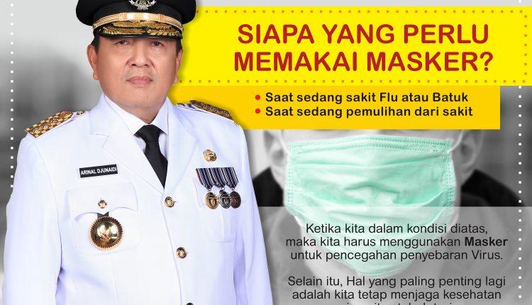 infografis SIAPA YANG PAKAI MASKER COVID19 - DINKESLAMPUNG